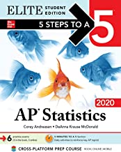 5 Steps to a 5: AP Statistics 2020 Elite Student Edition