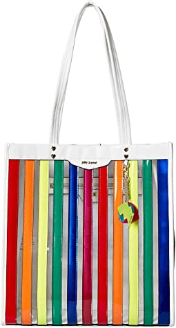 Spotted in Stripe Large Tote
