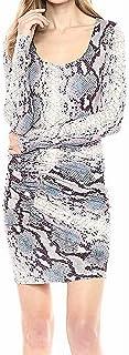 GUESS womens Long Sleeve Cierra Dress Dress