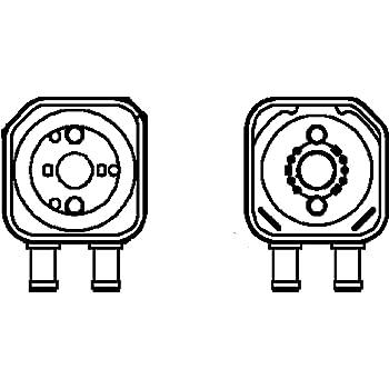 VAN WEZEL 58003093 /Ölk/ühler Motor/öl