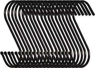 Swatowot 30 stuks S-vormige haken om op te hangen 9 cm kleerhangers voor keuken, badkamer, slaapkamer en kantoor (30 stuk...