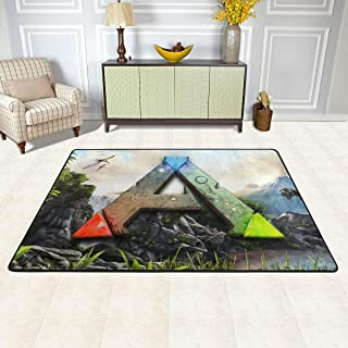 JoyRDaniels Ark Survival Evolved Area Rugs Non-Slip Indoor Decor Floor Carpet 36