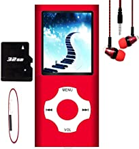 $20 » MP3 Player / MP4 Player, Hotechs MP3 Music Player with 32GB Memory SD Card Slim Classic Digital LCD 1.82'' Screen Mini USB...