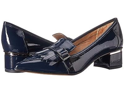 Franco Sarto Grenoble (Lapis Blue Crinkle Patent) Women