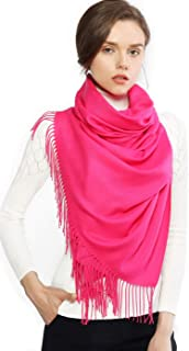 Cashmere Winter Warm Scarf Pashmina Shawl Wrap for Women and Men Long Large Soft Scarves