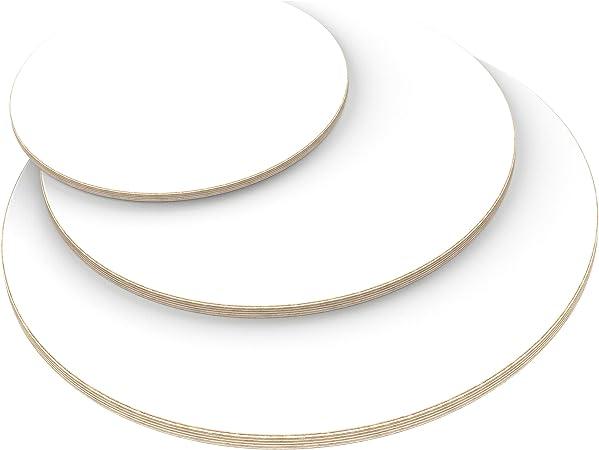 verwendbar AUPROTEC Multiplexplatte 21mm rund /Ø 500mm Holzplatten von 20cm-148cm ausw/ählbar runde Sperrholz-Platten Birke Massiv Multiplex Holz Industriequalit/ät als Tisch-Platte Bistro-Tisch etc