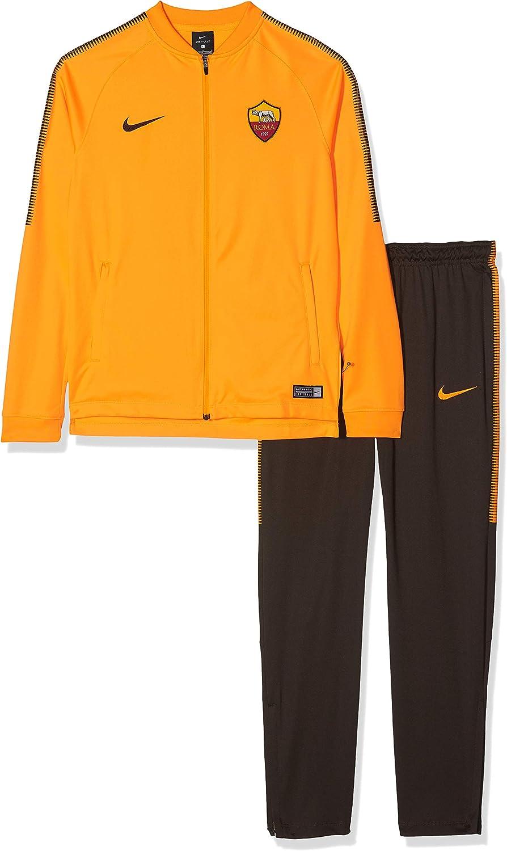 AIDS dissolvenza tempesta  Nike A.S. Roma Dri-FIT Squad, Tuta da calcio per Giovani-Unisex, M (137-147  cm), Arancione-Marrone (Vivid Orange / Velvet Brown / Velvet Brown):  Amazon.it: Abbigliamento