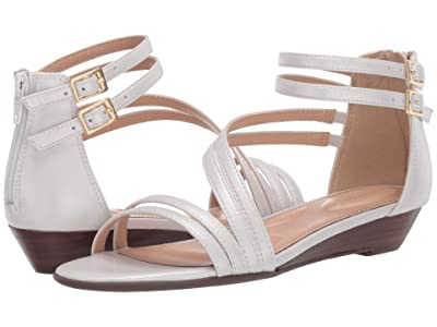 Rockport Total Motion Zandra Asym Ankle (White) Women