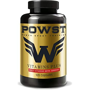 POWST Multivitaminico Plus e vitamina C, 120 compresse