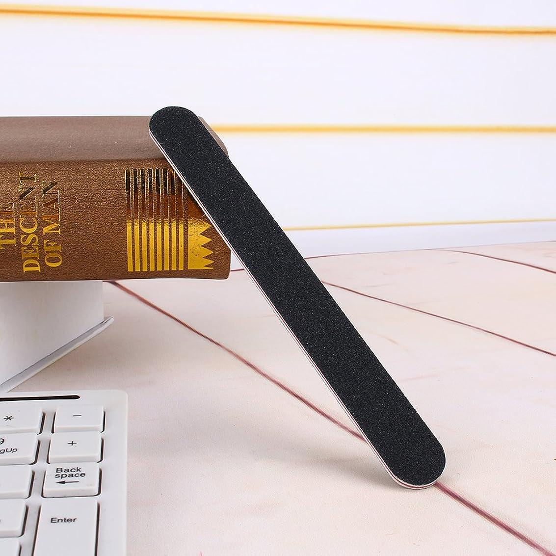マダム利得大統領グリットストレートネイルファイルエメリーボードファイルマニキュア