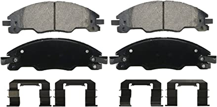 Wagner QuickStop ZD1339 Ceramic Disc Pad Set Includes Pad Installation Hardware, Front
