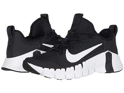 Nike Free Metcon 3 (Black/White/Volt) Women