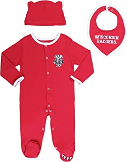 wisconsin badgers baby clothes
