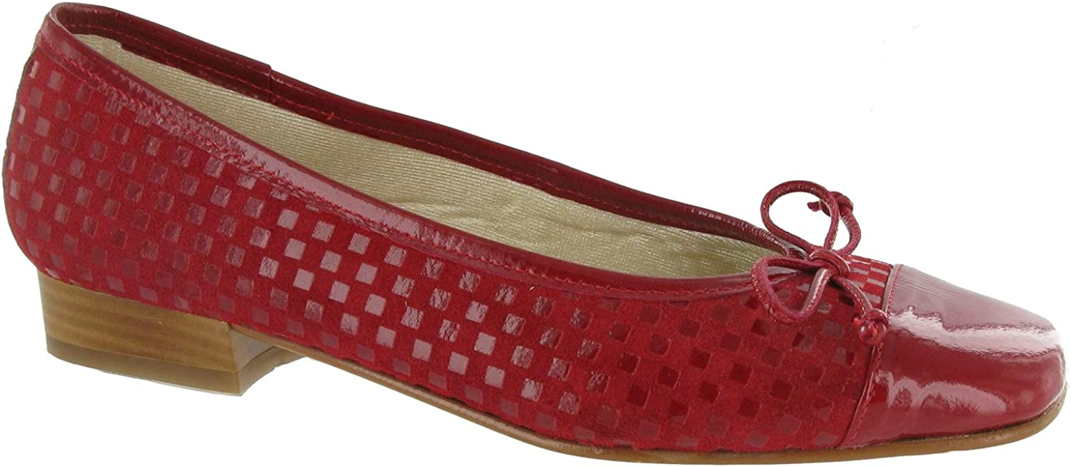 Riva Andros Suede Ladies Ballerinas Womens Ladies Slip-on shoes