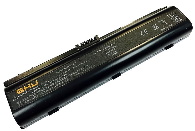 New GHU Battery Replacement for 411462-141 441425-001 446506-001 446507-001 HSTNN-34C HSTNN-IB42 HSTNN-lb42 Compatible with HP Pavilion DV6000 DV6100 DV6500 DV6700 DV2000 DV2500 DV2700 DV2200 V6000