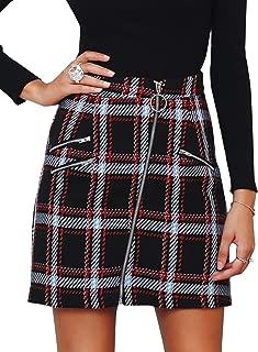 Best ladies plaid skirt Reviews