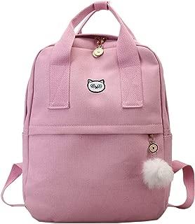 Backpack For School Teenagers Girls Vintage Stylish School Bag Canvas Fabric Backpack Bookbag Mochila 8830