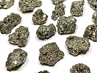 Pirita chispas en bruto del Perú, 3 cm, piedra natural, ideal para coleccionistas o en litoterapia.