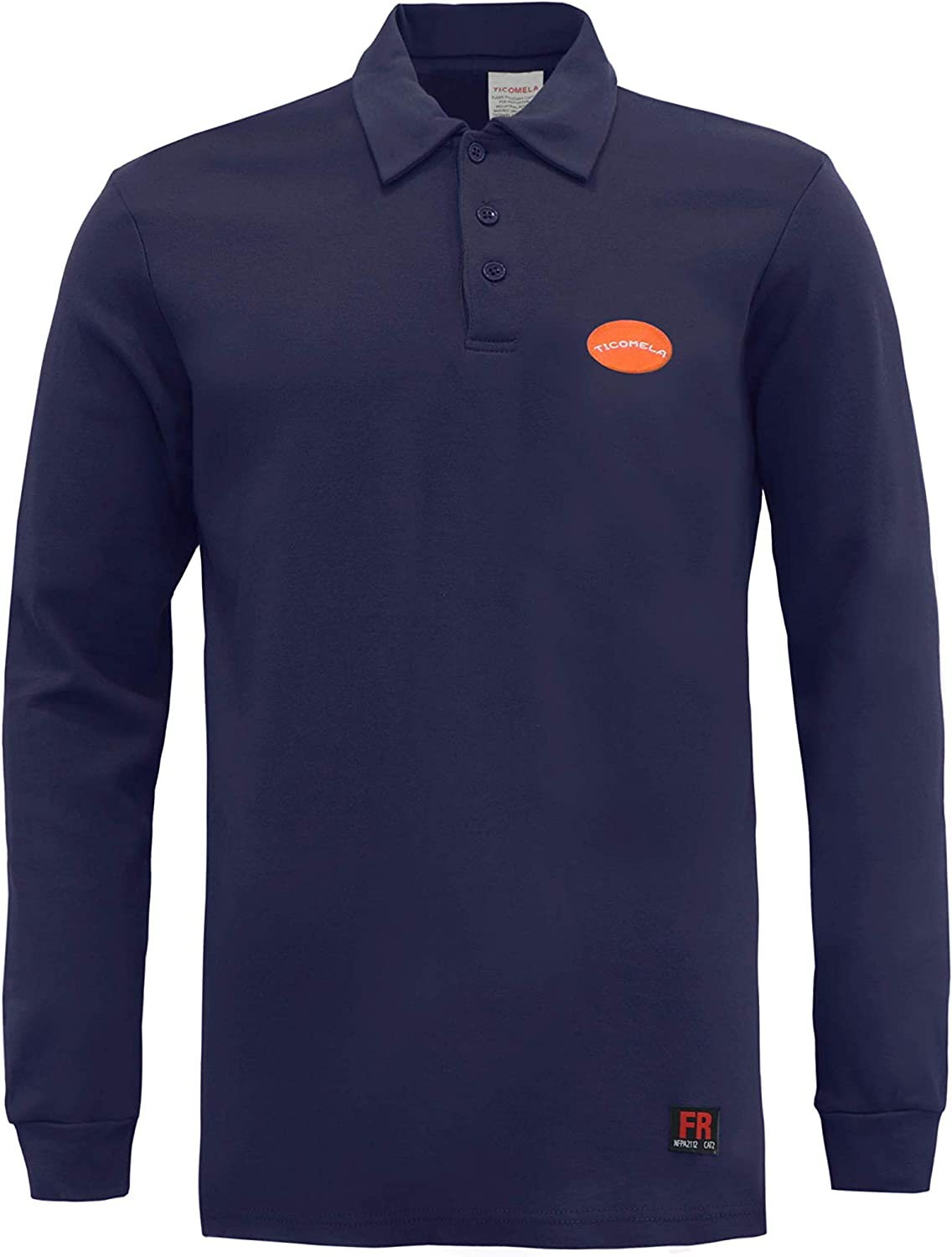 TICOMELA FR Shirts for Men Resistant NFPA2112 A surprise price is realized 7oz Flame F Rapid rise
