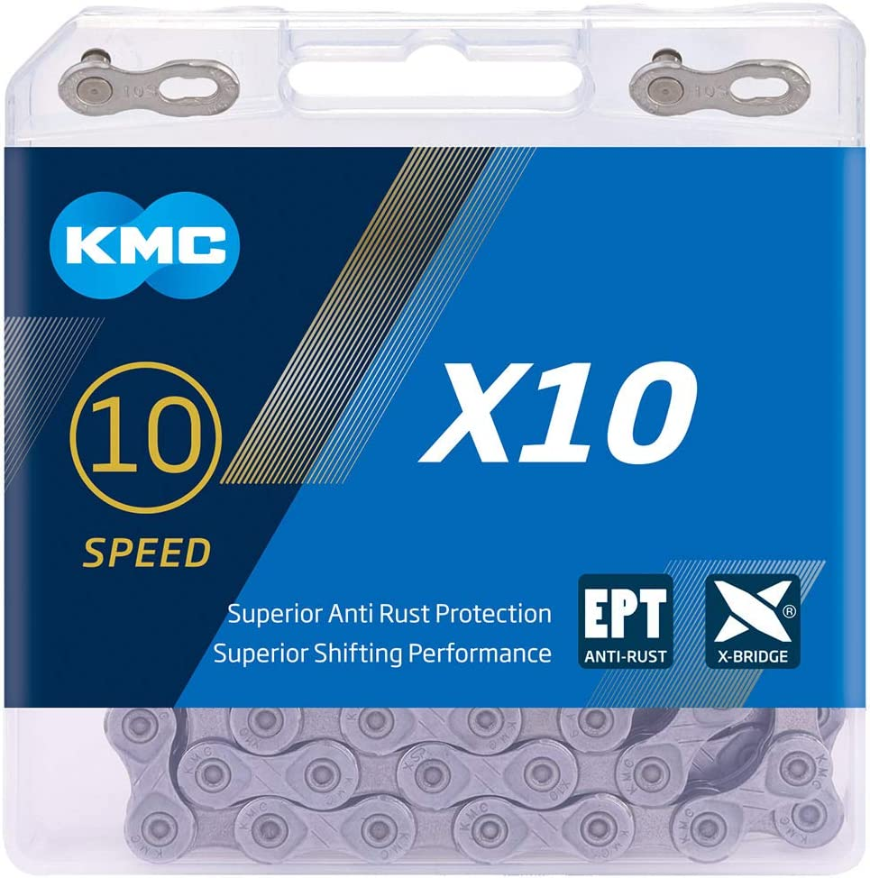 KMC Unisex's X10 Ept Chain 114 Links Grey Max 62% OFF New arrival