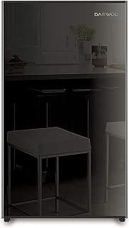 Daewoo Single Door Refrigerator 150 Liters Black FN-15BN