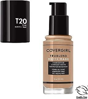 Covergirl Trublend Matte Made Liquid Foundation, T20 Soft Honey, 1 Fl Oz