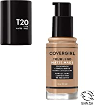 Covergirl Trublend Matte Made Liquid Foundation, T20 Soft Honey, 1 Fl Oz