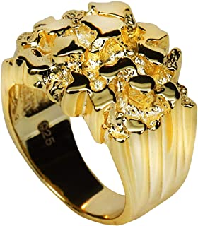 Best 14k solid gold pinky ring Reviews