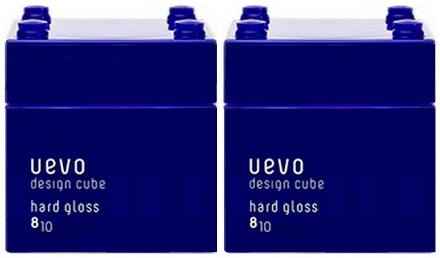 アカデミー急襲扱いやすい【X2個セット】 デミ ウェーボ デザインキューブ ハードグロス 80g hard gloss DEMI uevo design cube