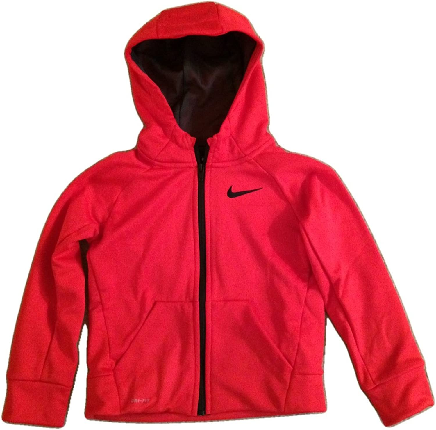 Nike Infant Toddler Dri-Fit Therma Hoodie (3T, University Red)