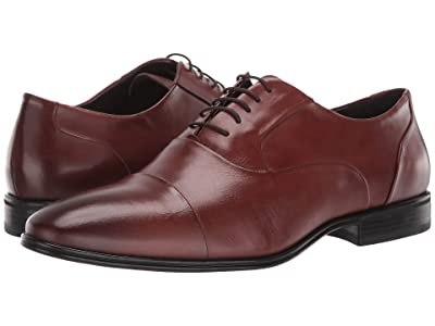 Massimo Matteo Cap Toe Bal Classic 19 (Whiskey) Men
