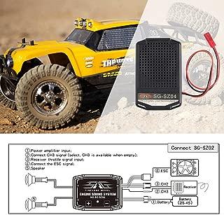 Godyluck Engine Sound Set with 2 Inch Loudspeaker for RC Car Traxxas TRX4 Tamiya XB HB Racing D418