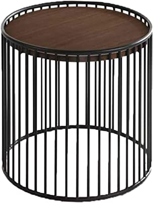 Amazon Com Anne Indoor Modern Boho Wicker Side Table With Tempered Glass Top Light Brown Kitchen Dining
