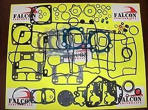 Harley Evo 1340 BIG BORE Upper/Top End Gasket Set w/Teflon+Carbon Head 84-99 (stock)