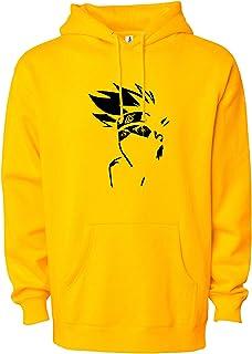 BAGHADBILLO Naruto Printed Casual Regular fit Unisex Warm Pullover Cotton Hoodie, Sweatshirt