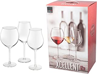 16 Cl Royal Leerdam 640700 Confezione da 3 Bicchiere A Calice Ballon da Porto