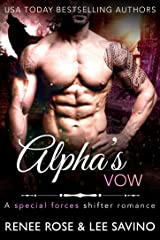 Alpha's Vow (Shifter Ops series Book 2) Kindle Edition