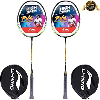 Li-Ning XP Series Aluminum Badminton Racquet, Set of 2