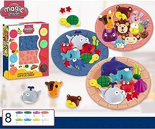 Spirgo Color Toy Mud Animal Party Playset Magic Clay Set