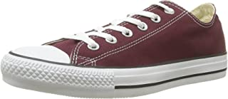 Converse Unisex Chuck Taylor All Star Ox Low Top Classic Burgundy Sneakers - 4 D(M) US