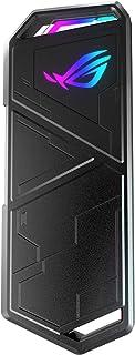 ASUS ROG Strix Arion M.2 NVMe SSD Enclosure - USB3.2 GEN2 Type-C (10 Gbps), Dual USB-C to C and USB-C to A Cables, Screwdr...