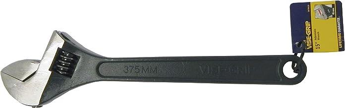"""Irwin 1864064, Chave Ajustável 12"""", Preto e Prata"""