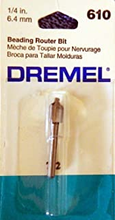 Dremel Beading Router Bit 1/4in 6.4mm #610