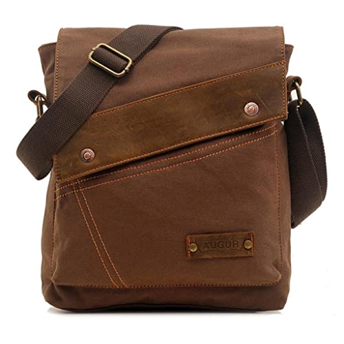Vere Gloria Messenger BagVintage Canvas Shoulder Crossbody Bag For Everyday Use