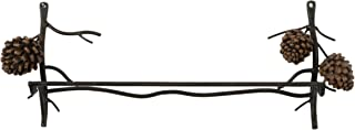 DEI Country Pinecone Towel Bar, 18-Inch