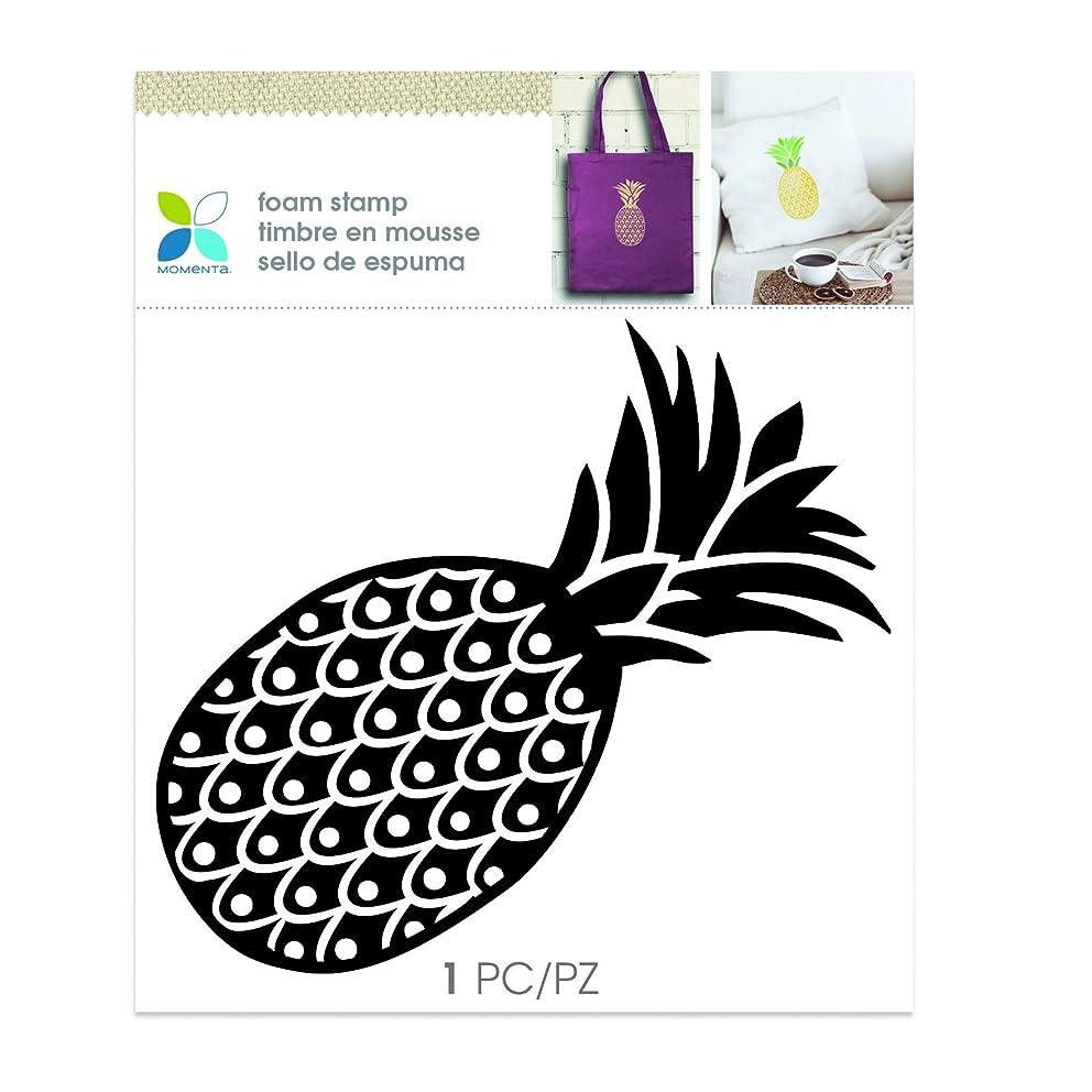 Momenta Pineapple Foam Stamp, Black