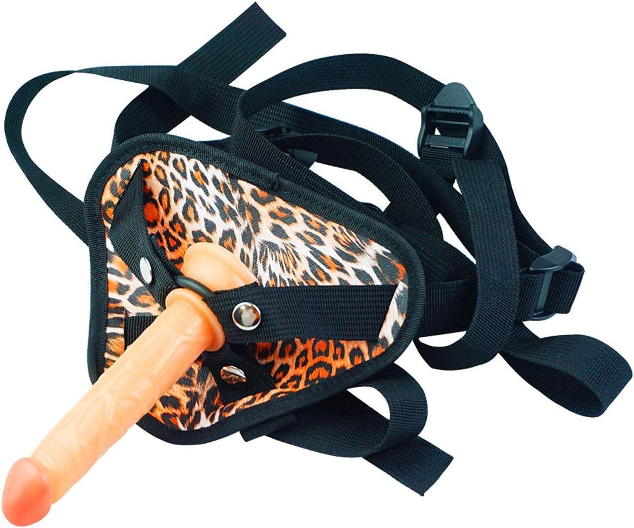 XWU Female 35% OFF Mast urbation Device Leopard Charlotte Mall Detachable 3-Ring Print