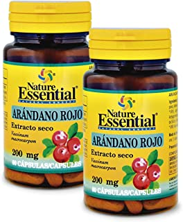 Arándano rojo 5000 mg. (ext. seco 200 mg.) 60 cápsulas (Pack 2 unid.)