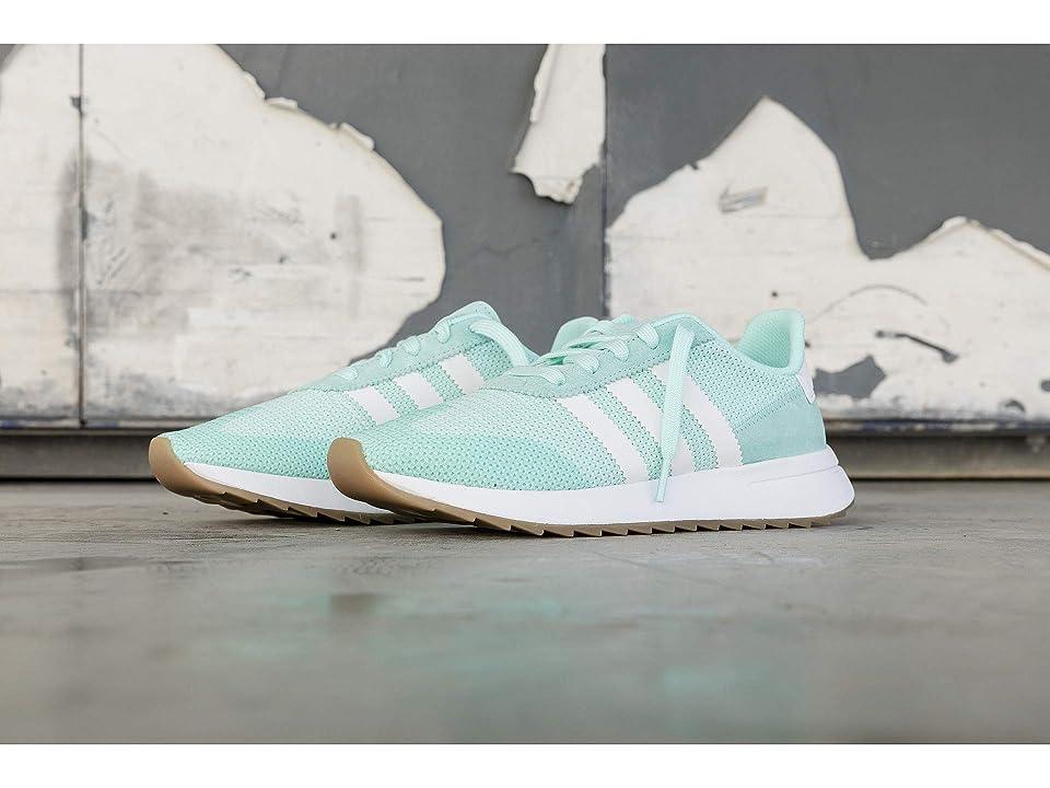adidas Originals FLB Runner (Energy Aqua F17/Footwear White/Gum 4) Women