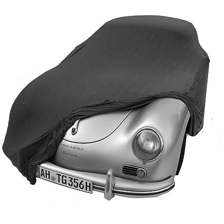 Autoabdeckung Soft Indoor Car Cover Stretch Delux Autogarage Faltgarage Premium Mit Spiegeltaschen Auto